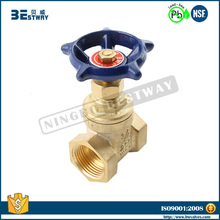 BWVA Passed SGS test non rising stem 4 inch water gate valve