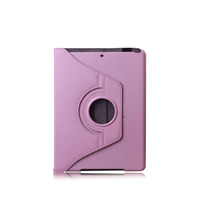 2013 Best Price Genuine PU Leather Style Case, Rotating Design Case Cover For Ipad5,various colors