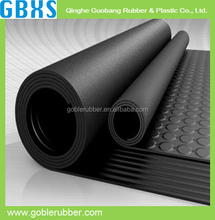 GBXS waterproof round button rubber mat