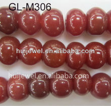 red roundel agate bead bead gemstone jewelry
