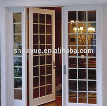upvc lobby entrance luxurious door profile manufacturers with grills