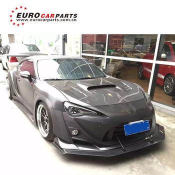 New arrival / For GT86 FT86 /Suba BRZ Ver.3 V Style 12~16y body kit full set frp with carbon