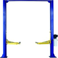 Hydraulic 4Ton 2 post clearfloor car lift