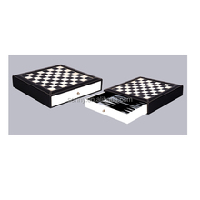 2 in 1 Outdoor Chess Set