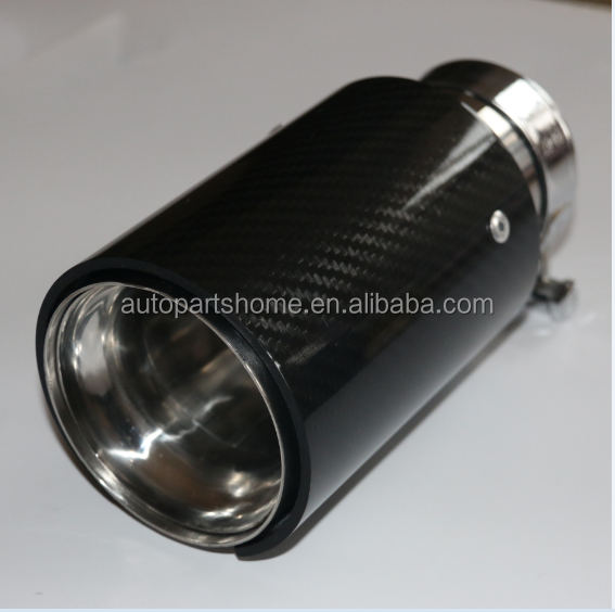 High Quality Carbon fiber exhaust tip for BMW/carbon exhaust tail pipe