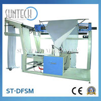 Tension Control Fabric Double Folding And Sewing Machine