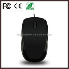 Factory shenzhen computer accessories wired optical mouse for laptop mac