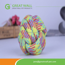 Hot selling <strong>pet</strong> toys braided cotton rope ball <strong>pet</strong> toys for dog