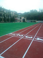 All Weather Use Permeable Athletic Rubber Running Track/ Race Track