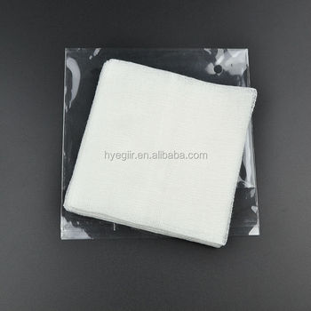 High Quality Gauze Pad 10x10cm High Absorbing Ability Approved by FDA, ISO Certificates
