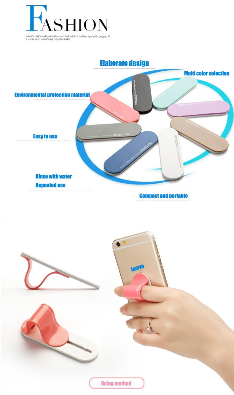 2016 products hot selling flexible cell phone holder Custom Logo CE RoHS
