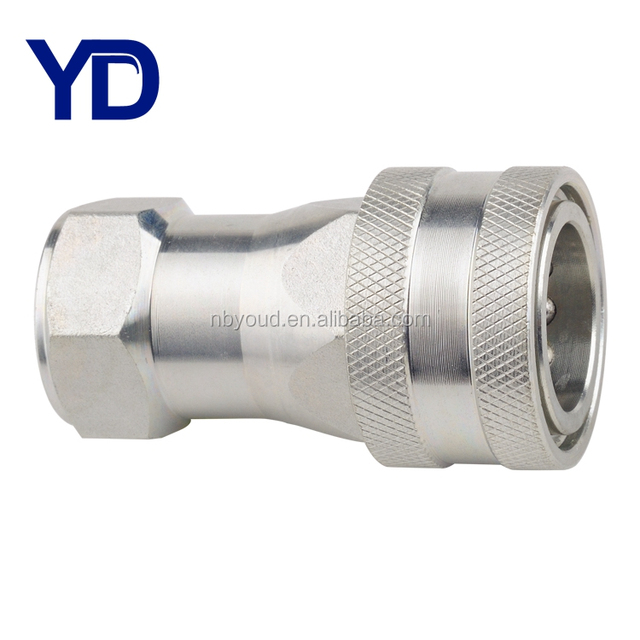 Hydraulic quick release couplings coupler ISO A