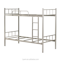 Strong School Dormitory Metal Bed Double Decker Bunk Bed for Sale