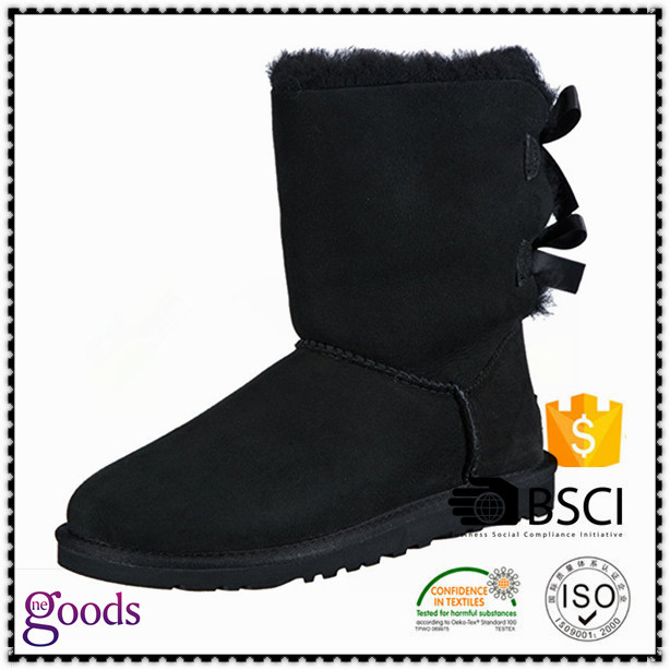 Boots mid calf waterproof women snow boots shoes