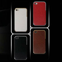 2015 Wholesale Best price phone accessory fashion genuine leather mobilephone case for iphone 5