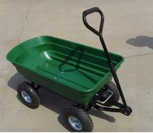 Easy assembly with 4 wheel beach wagon garden tool cart