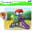 Happy Island high quality LLDPE plastic slide playground for sale