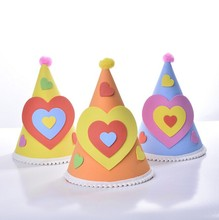 Birthday party paper hat/crown for kids decoration hats in birthday party