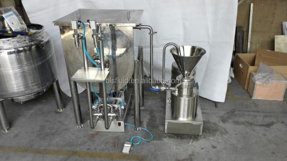 BLS ss304 tahini/peanut butter making machine/ketchup making machine