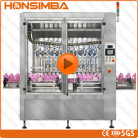 100% CE ISO GMP 100-1000ml lotion cream shampoo filling capping and labeling machine