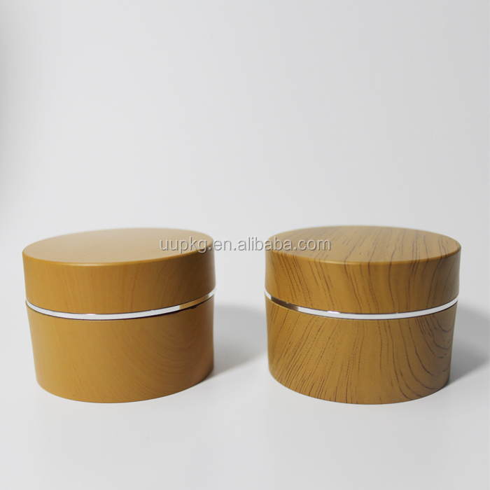 UU packaging 30ml bamboo jar cosmetic