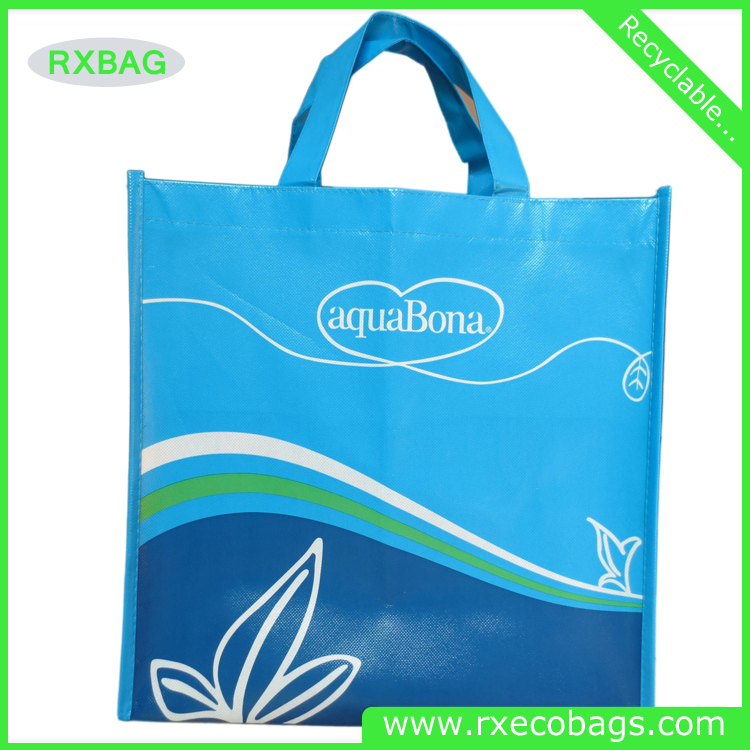 customized reusable Laminated grossy film non woven fruit bags