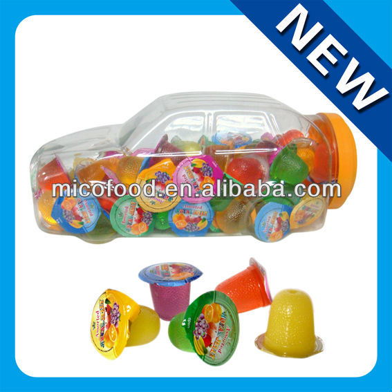 15g Car shape fruit jelly