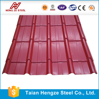 Color Stone coated metal roofing tile / roof sheets price per sheet
