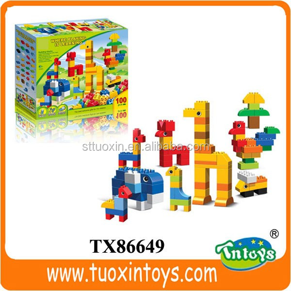 solid ABS small plastic block (40 pcs)