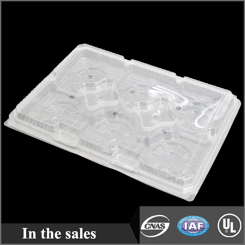 plastic folding tray for biscuit