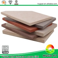 Facade fiber cement through color decorative wall panel for building construction material decoration cladding system