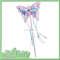 XB-26 2015 Souza Butterfly Fairy Magic Wand Girls Purple Flower Butterfly Wand
