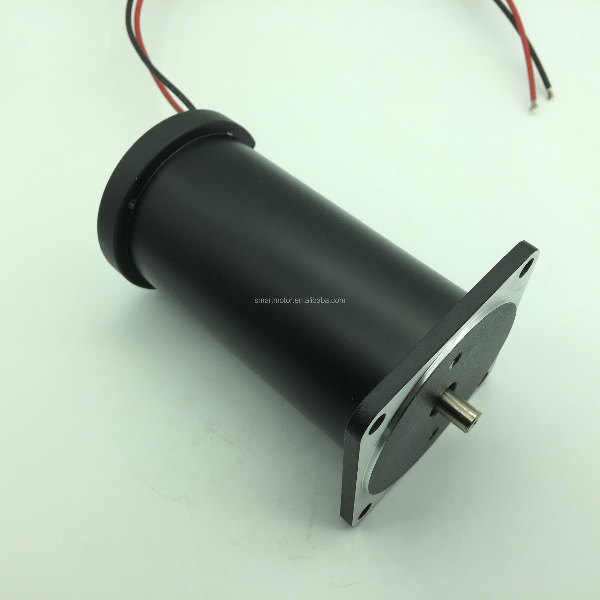 Small Size Big Power 12v 24v DC Electric Wheelchair Motor rated 4500rpm 200w