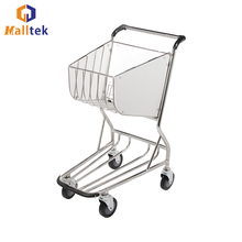 ODM Airport Luggage Baggage Passenger Trolley High Strength