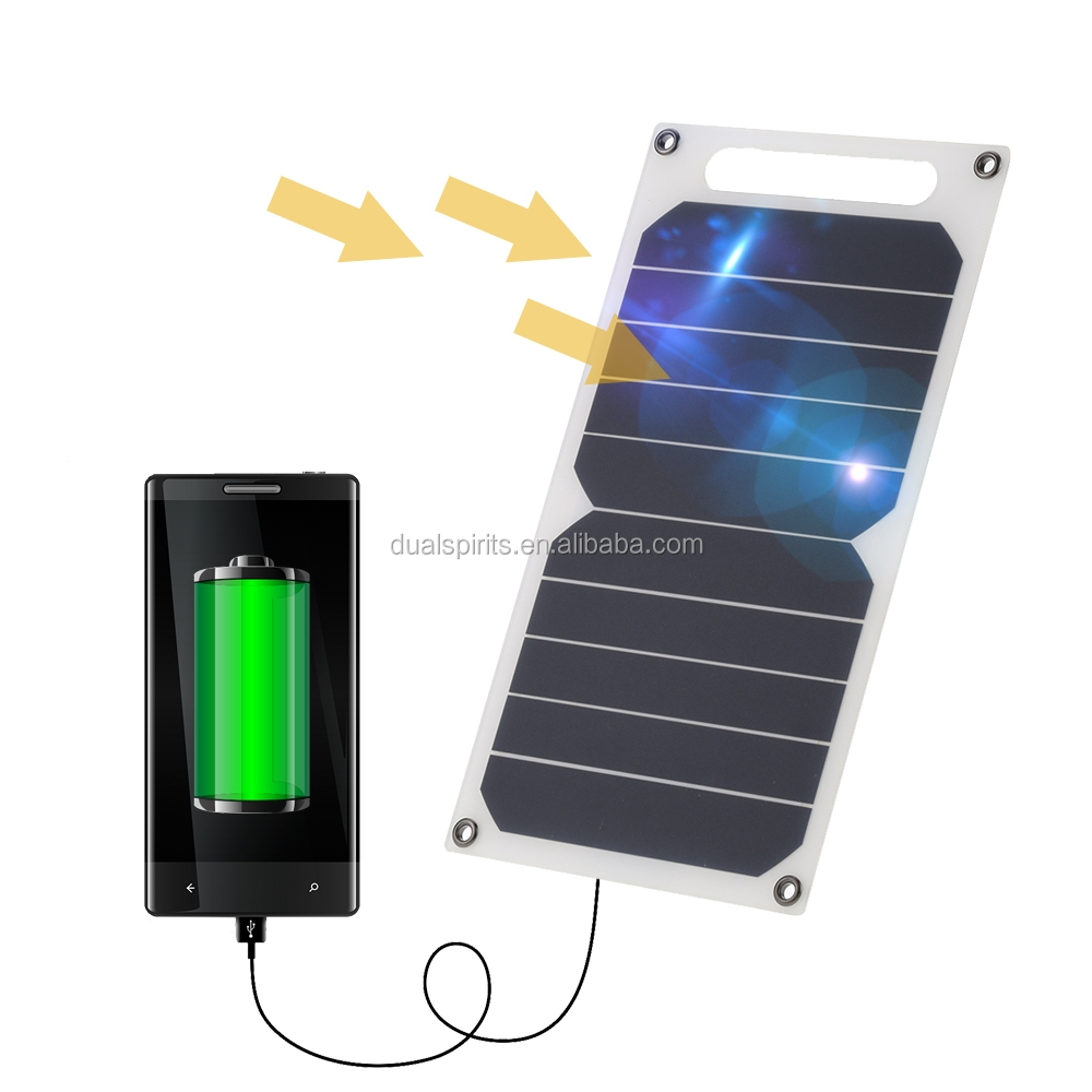 Portable solar charger for mobile phone tablet, torches, lights charger outdoor camping use