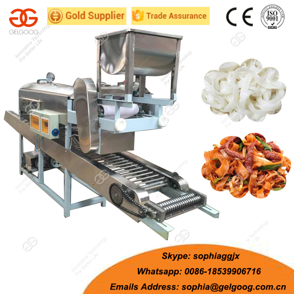 Automatic Rice Noodles Making Machine Rice Noodles Extruder Machine Price