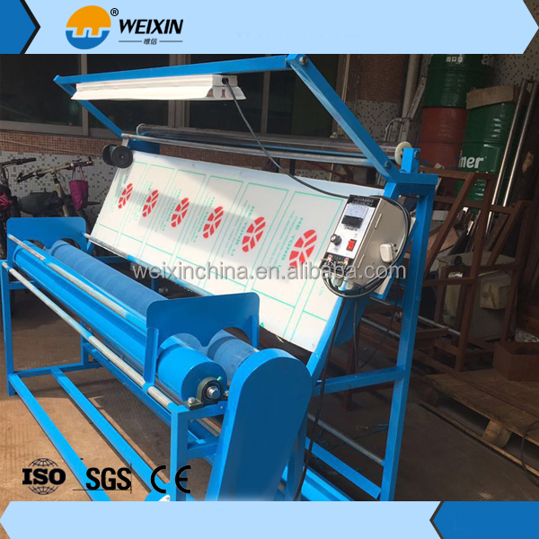High Quality Knitted Fabric rolling machine Inspection a Machine from Factory