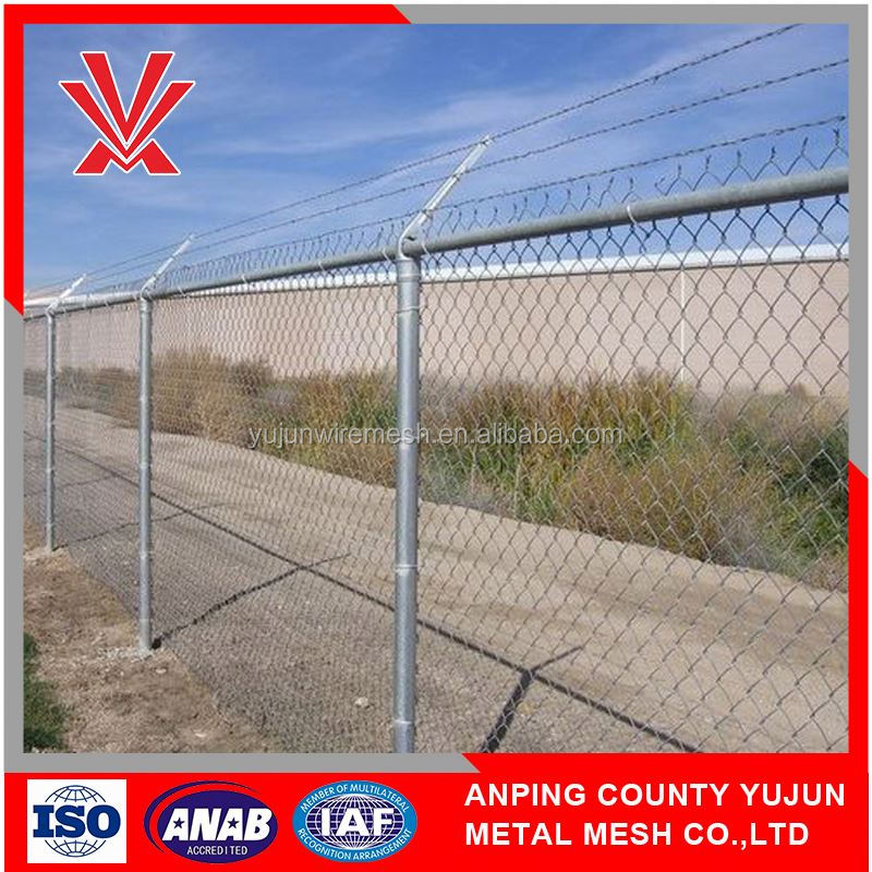 For Concstruction Baseball Ground Chain Link Fence