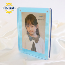 JINBAO Professional Custom Small Acrylic Multiple Framed Photo Block stand