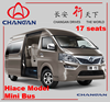 2015 Used Changan hiace model mini bus for sale