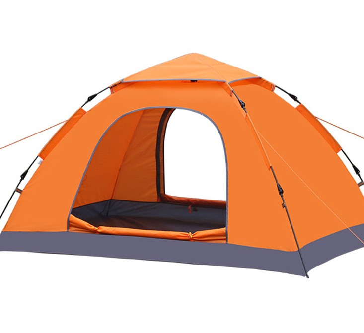 portable outdoor oppenning camping single layer automatic tent
