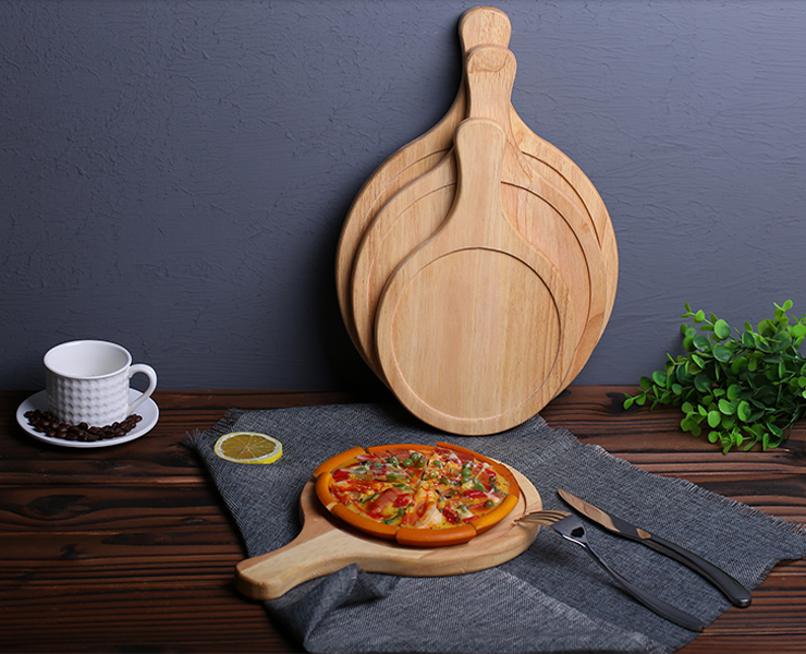 Safety Wooden Serving Board Cheese Cutting Board Set