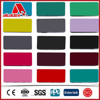 Decorative Material Building Material ACP Color Chart
