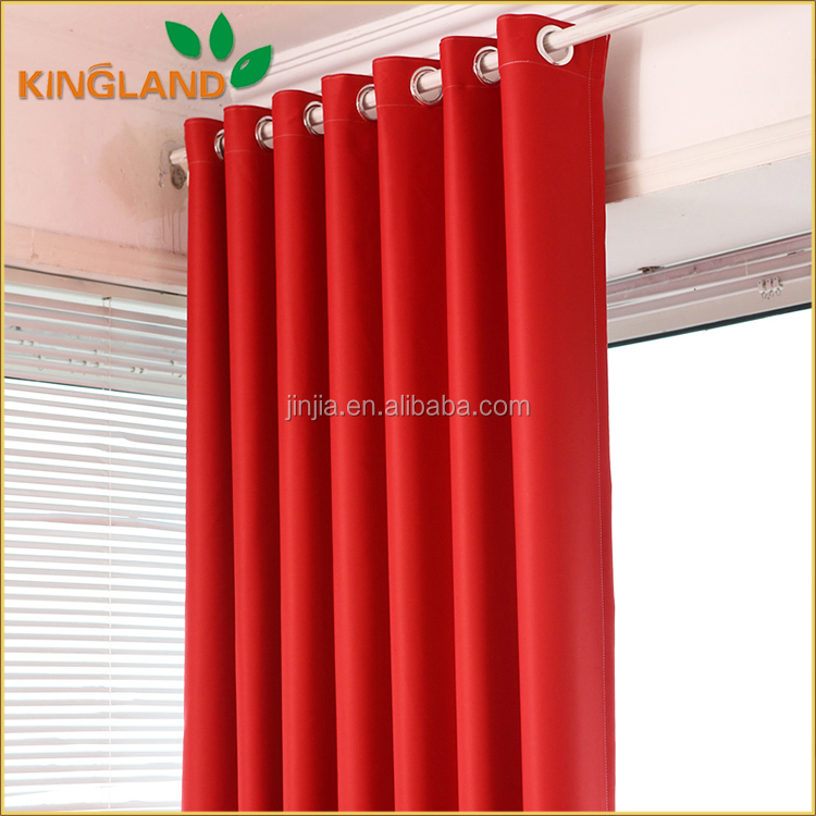 New Curtains Style For 2017 Thermal Insulated Hotel Blackout Curtains For Living Room