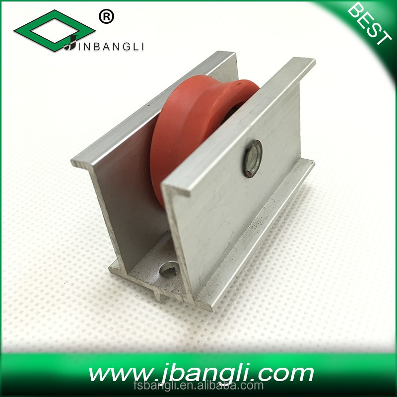 pully for silding door and window aluminium roller steell sliding wheel