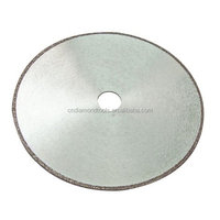 Electroplated diamond saw blades for soft marble /Diamond cutting blades with continuous rim