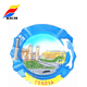 Promotional tourism souvenirs world city fridge magnets in resin