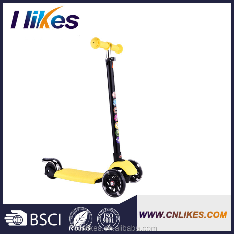 promotional mini kick 4 wheel scooter sale