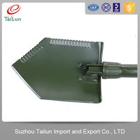 TaiLun 50#Steel Heated Military Folding Shovels With Rigidity 42-46 Degree