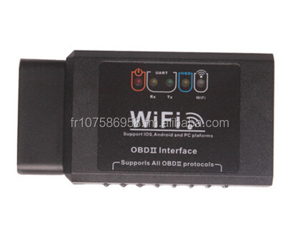 high quality ELM327 WIFI OBD2 EOBD Scan Tool Support Android and iPhone/iPad